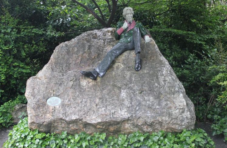 Estátua de Oscar Wilde