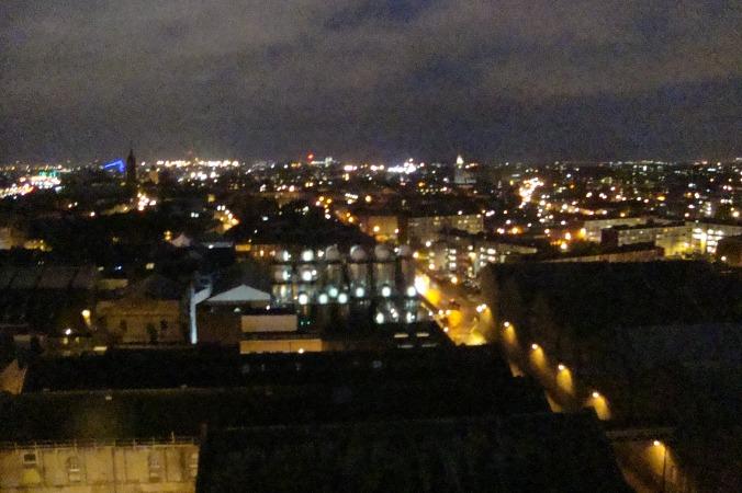 Vista de Dublin do Gravity Bar.