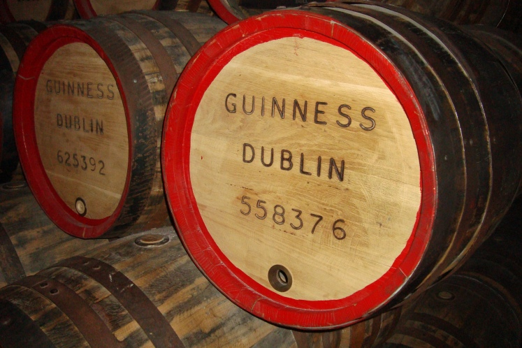 Barris de Guinness.