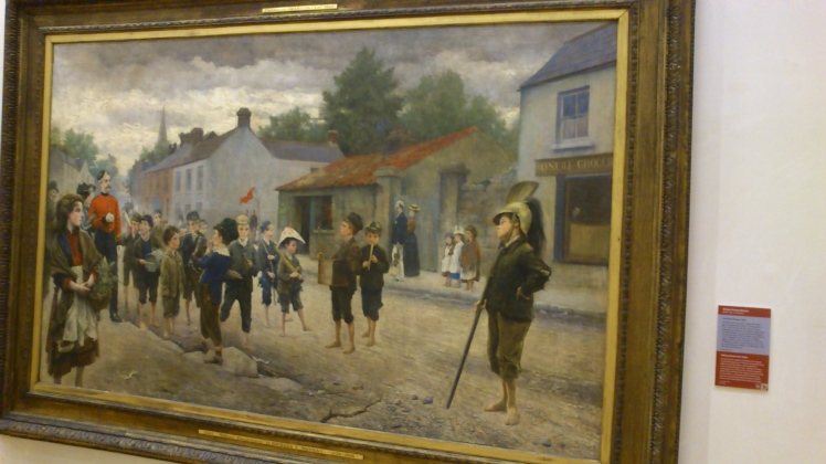 Quadro de artista irlandês.