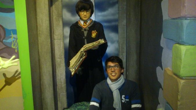 Eu e o Harry.