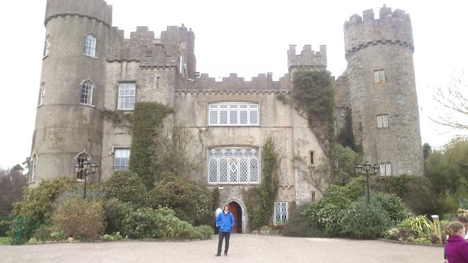 Enquanto isso, no lustre do castelo...
