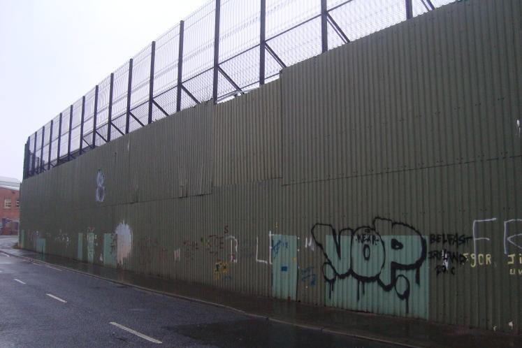 """""""Peace"""" Wall"""
