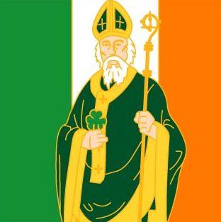 Saint Patrick cara de mau