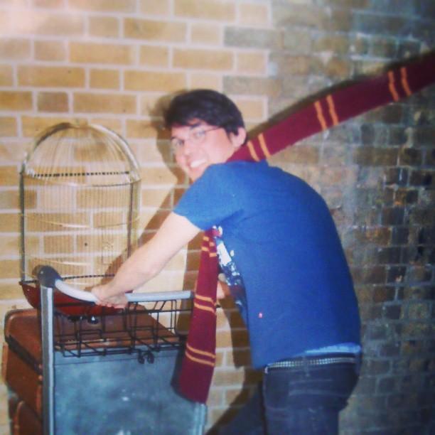 Hogwarts, here I go!