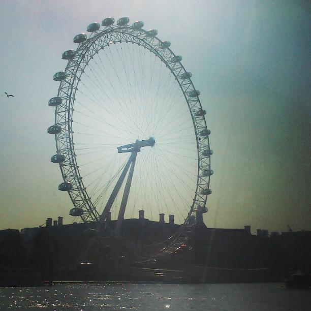 London Eye - olhem o passarinho <3