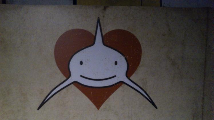 Tubarões são amigos