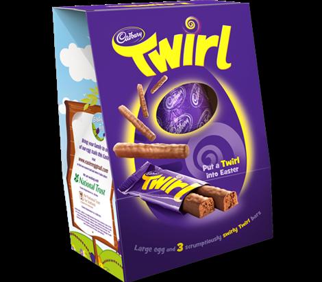 Twirl easter egg