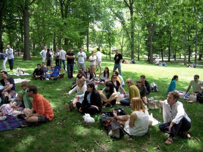 picnici no parque