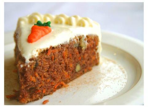 Carrot cake (bolo de cenoura) irlandês