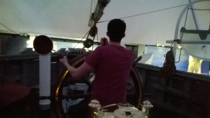 Pilotando o Fram