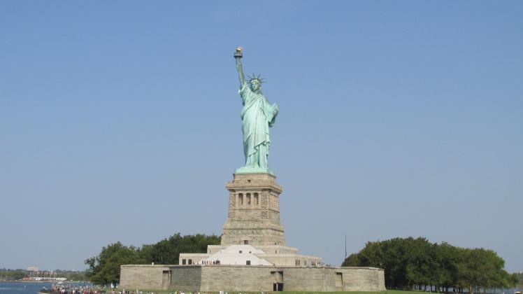 A Estatua da Liberdade