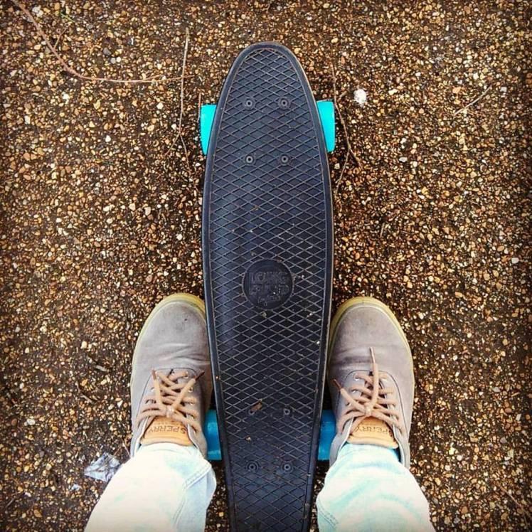 Meu primeiro skate