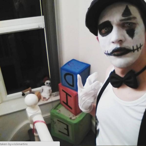 halloween-mime