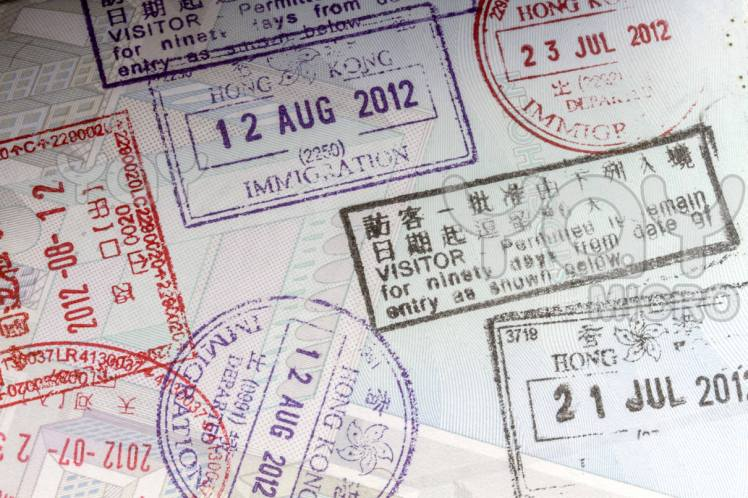 Passport-stamps