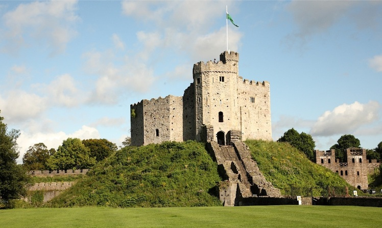 Cardiff-Castle-Roman-Tower
