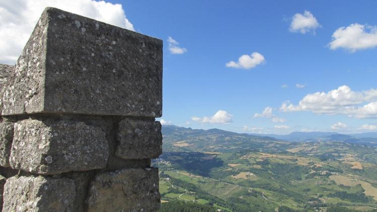 Visto do alta da Prima Torre