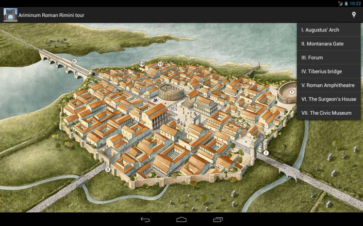 Rimini nos tempos romanos
