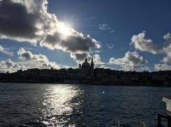 Valetta vista de Sliema